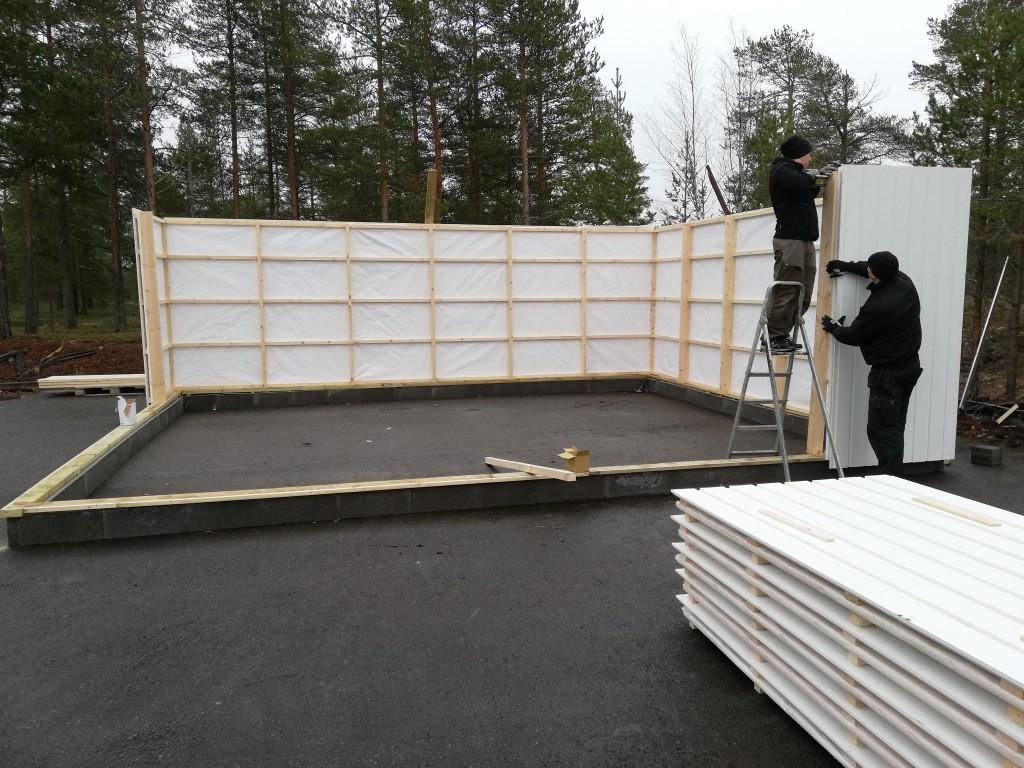 bygga väggblock själv